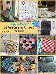Modern Crochet Patterns Free