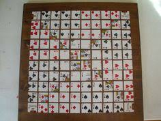 Wooden Sequence Board Game How to Make a Sequence Board Game Crafty Stuff Pinterest 24
