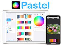 Pastel' Color Palette App for iPhone ...