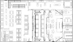 Restaurant Kitchen Design Grill And Bar Floor Plans Commercial Restaurant Kitchen Design