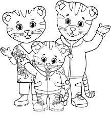 Printable Daniel Tiger Coloring Pages Clipart 275 Get Coloring Page