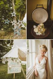 an epic diy bohemian wedding at ratfyn farm with a jenny packham dress and a humanist