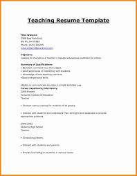 Resume Templates Teachers Cv Format For Fresher Teacher Cake Order Forms Templates
