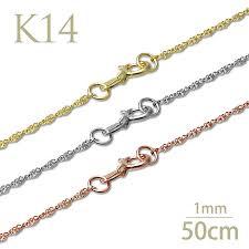14 k white gold twist chain 1 mm wide hawaiian jewelry gold chain las mens gifts 05p30nov14