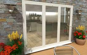 folding patio doors. Climadoor White Aluminium Bi-folding Patio Doors Folding