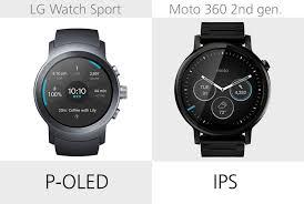 moto 2nd gen watch. display type moto 2nd gen watch t