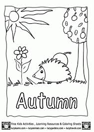 Small Picture Fall Acorns Coloring Pages More Fall Coloring Pages Autumn Color