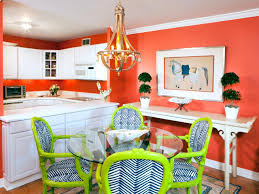 Light Coral Walls Dining Room Color Ideas Chandelier Plants In Pot Red Wall Ceiling