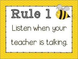 Classroom Rules Bumble Bee Theme Positive Behavior Whole