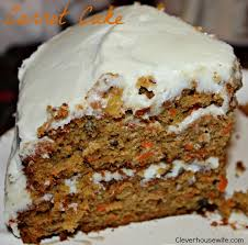 Scrumdidilyumptious Carrot Cake Clever Housewife