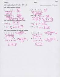 full size of worksheet solving quadratic equations worksheet with answers picture of math worksheets quadratic large size of worksheet solving quadratic