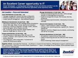 job description linux administrator job description