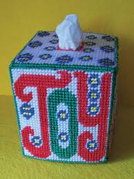 Free Plastic Canvas Tissue Box Cover Patterns