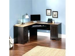 corner shaped desk fancy modern corner computer