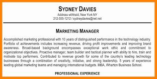 Resume Summary Statement Example Of Resume To Apply Job
