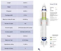 boeing 737 400 seat plan