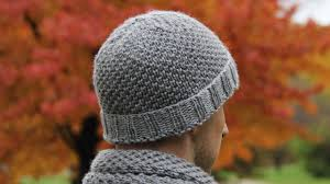 Free Knitted Hat Patterns On Circular Needles Inspiration How To Knit Men's Hat Video Tutorial With Detailed Instructions