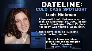 Father still fights for justice in murder of Leah Hickman 12 years after  her body was found in crawl space under West Virginia home
