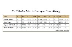 32 Conclusive Tuff Rider Breeches Size Chart