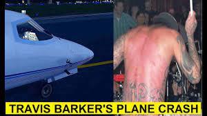 Travis Barker (Blink 182) plane crash ...