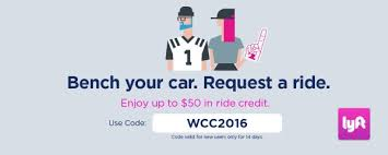 wcchoops on twitter congratulations to our 100 lyft gift card winner if you didn t win you can still use our code for 50 lyft credit
