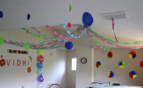 photo popular bday party decorations at home birthday