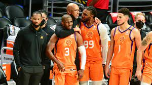 The suns compete in the national basketball associa. Phoenix Suns Finish Off La Clippers In 6 Advance To First Nba Finals Since 1993 Abc30 Fresno