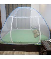 ... Healthgenie Double Bed Mosquito Net (blue) ...