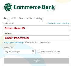 Commerce Bank Credit Card Login Commerce Bank Account Registration