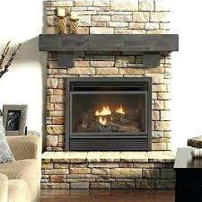 vented vs ventless fireplace electric vent free fireplace vented vs