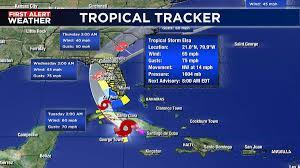 Suncoast now under tropical storm warning