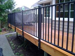 aluminum deck railings canada. inspiring metal deck railing systems #7 aluminum railings canada w
