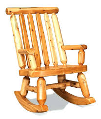 rustic rocking chair plans log cedar chairs wood furniture white papa bear rocker rustic rocking chair