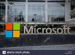 microsoft office redmond wa. A Logo Sign Outside The Headquarters Campus Of Microsoft In Redmond, Washington. - Stock Office Redmond Wa