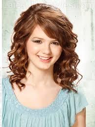 Curly teen girl hair do's