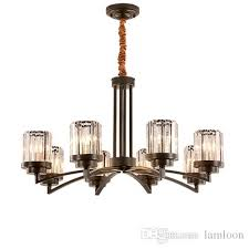 american crystal chandeliers living room restaurant crystal pendant lamps european modern led pendant lights bedroom black chandeliers