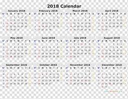2018 Calendar Online Calendar Iso Week Date Template Year