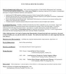 Example Of Functional Resumes Samples Of Functional Resumes Englishor Com