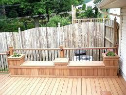 patio deck storage resin wicker