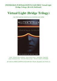 A Bridge To Light Ebook Download Free Virtual Light Bridge Trilogy R A R