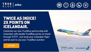 Double Jetblue Points On Icelandair Europe On The Cheap