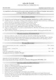 Graduate School Resume Sample New Example College Application