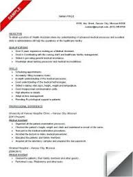 Extraordinary Sample Resume For Dermatology Medical Assistant In 8 ...