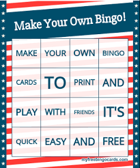 create your own christmas cards free printable free printable bingo card generator