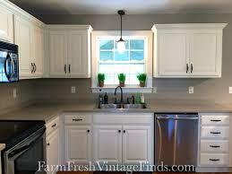 basic finishes milk paint kitchen cupboards
