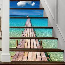 Lt6P010 Home Self-Adhesive 3D Stairs ...