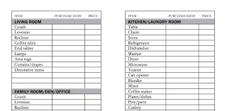 How To Do An Inventory List Home Inventory Checklist Servicemaster Quality Restoration