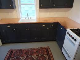 Dark Blue Kitchen Cabinets Architectural Details A Navy Blue And Copper Kitchen