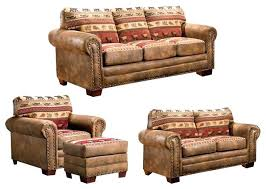 rustic living room furniture sets. Rustic Living Room Furniture Set Sierra Lodge 4 Piece With Sleeper . Sets E
