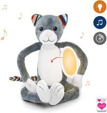 Child Night Light Stuffed Animal Amazon Com Zazu Kids Nightlight Plush Toy Katie The Cat